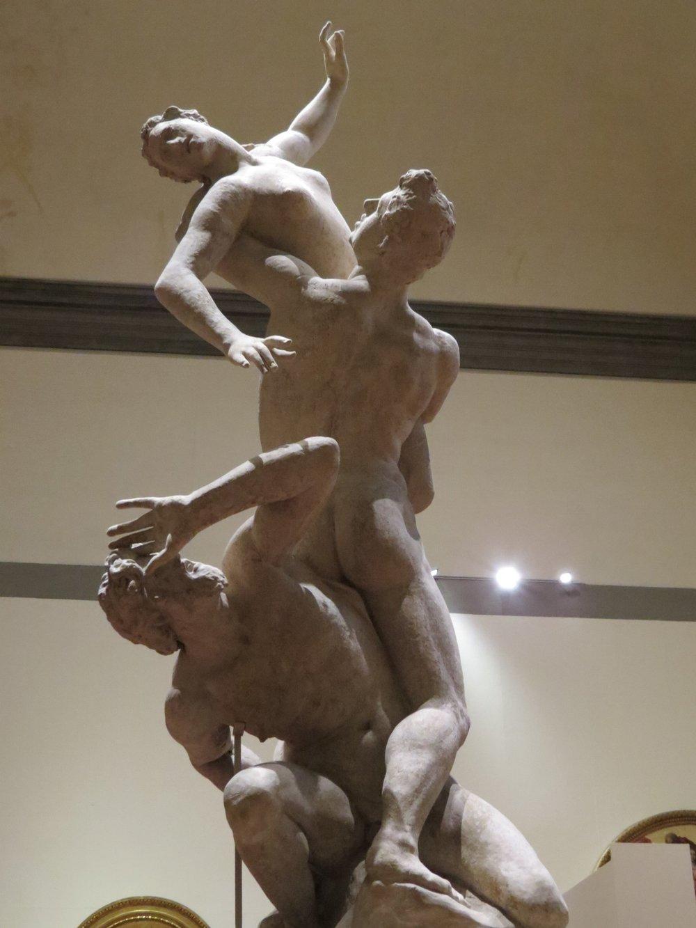 Rape of the Sabine Women (plaster cast)