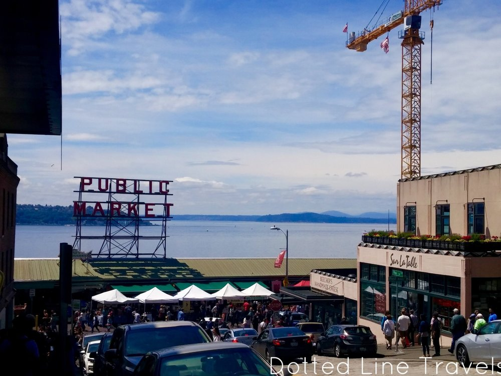 Pike Place Market!