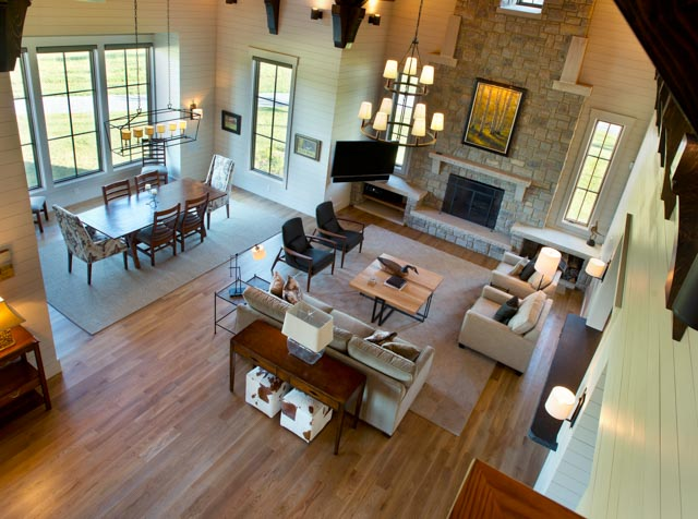 Luxury Country Farmhouse Open Floorplan