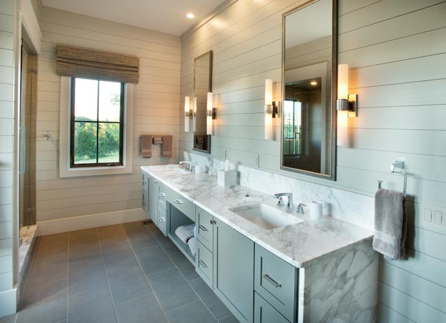Luxury Country Farmhouse Master Bathroom