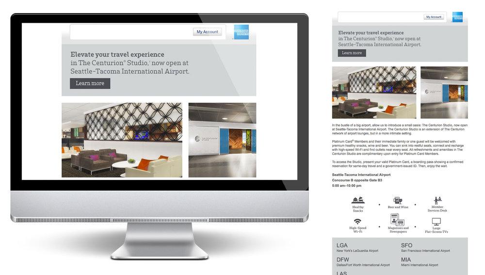 AMEX Centurion Graphic Design / Icons / HTML / CSS /  Testing & QA