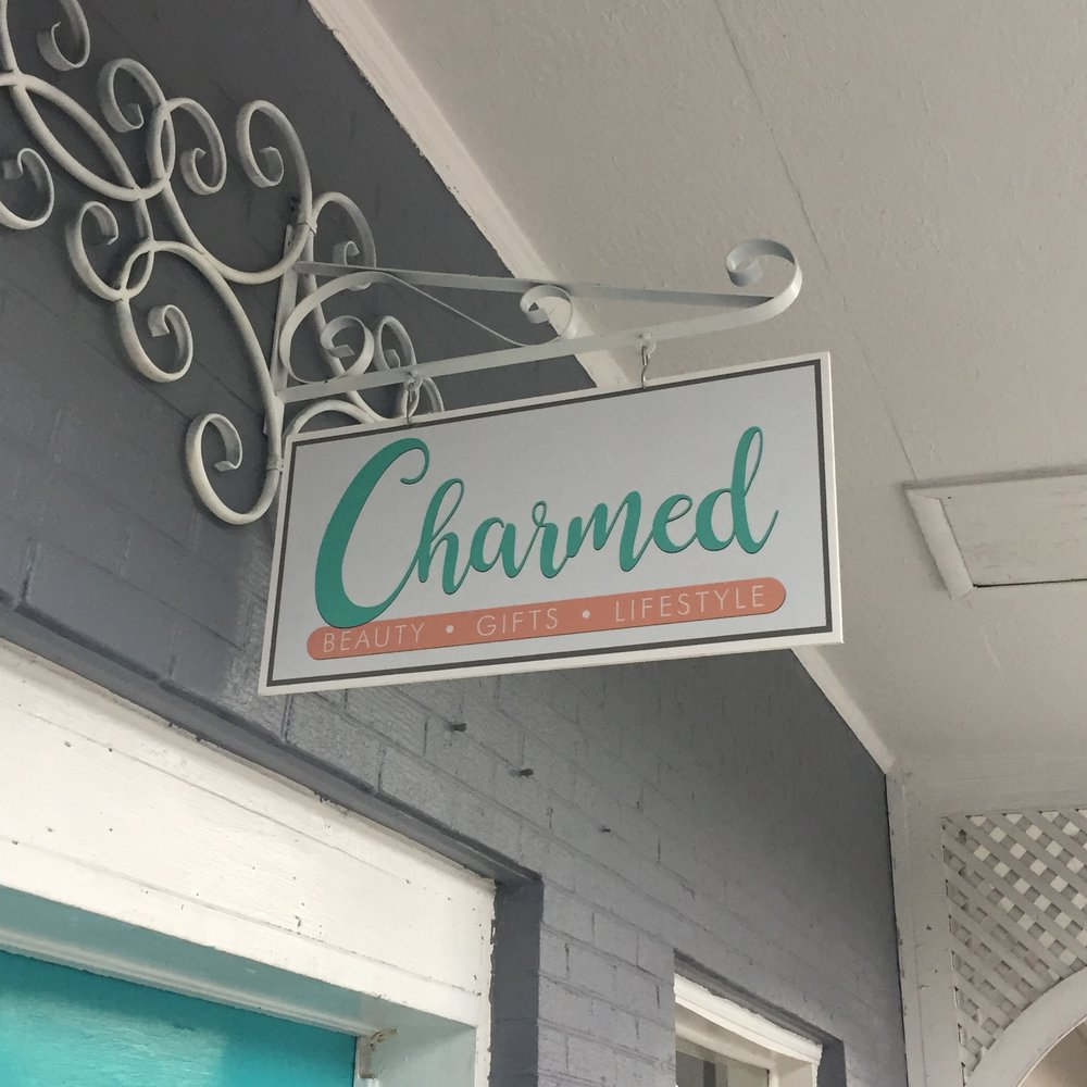 Want to buy our keychains and ring dishes in person?? You can at Charmed!