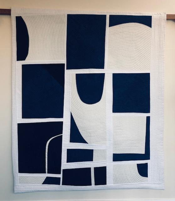 Blue Collage   Sarah Hibbert