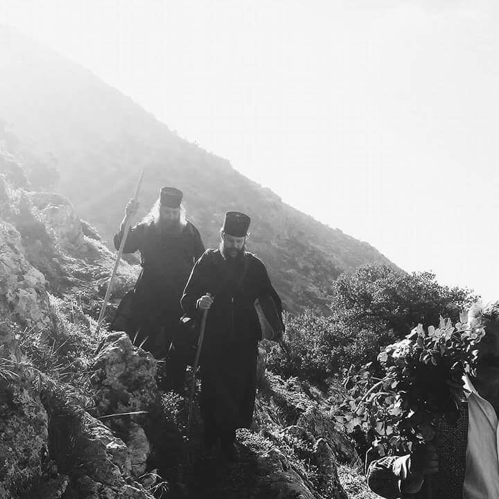 The hike down the mountain.Demi Frangos (2017)