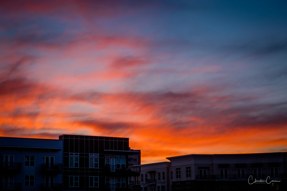 Sunset in Dallas. View from my balcony. Captured for Adrianna.Fujifilm x-T1, fx 60mm f2.4 @ ISO 320, f5.6, 1/125s
