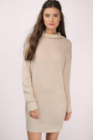Tobi Up To It Sweater Dress