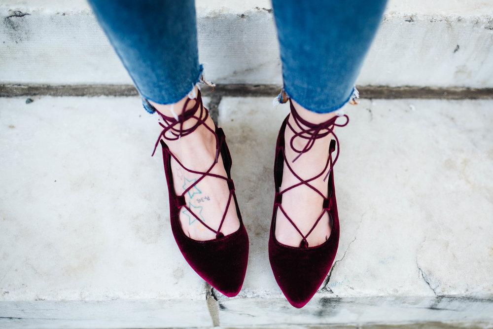 "<img src="" valentines-day-look.jpg"" alt = ""velvet-lace-up-flats"">"