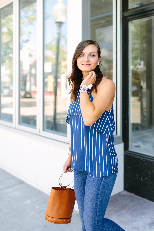 "<img src = how-to-wear-stripes.jpg"" alt = ""how-to-wear-stripes-teddy-bears-and-lipstick-monthly-collab-self-confidence-sam-edelman-yardley-rag-and-bone-sonoma-capri-skinny-jeans-francescas-striped-ruffle-cami-statement-bag"""