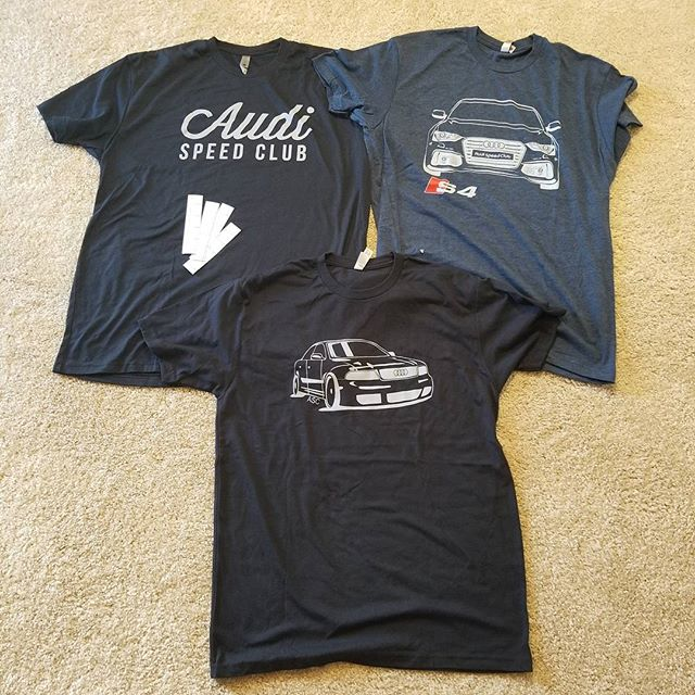 Huge thanks to @audispeedclub for the shirts and stickers 👌 I'll get your cluster looking fresh again 🏎 🇩🇪 #audia4 #audis4 #b5a4 #b5s4 #b5elite #b5elitecrew #audizine #audigramm #Audi #coding #firmware #software #engineering #performance #performanceengineering #murphytechnology
