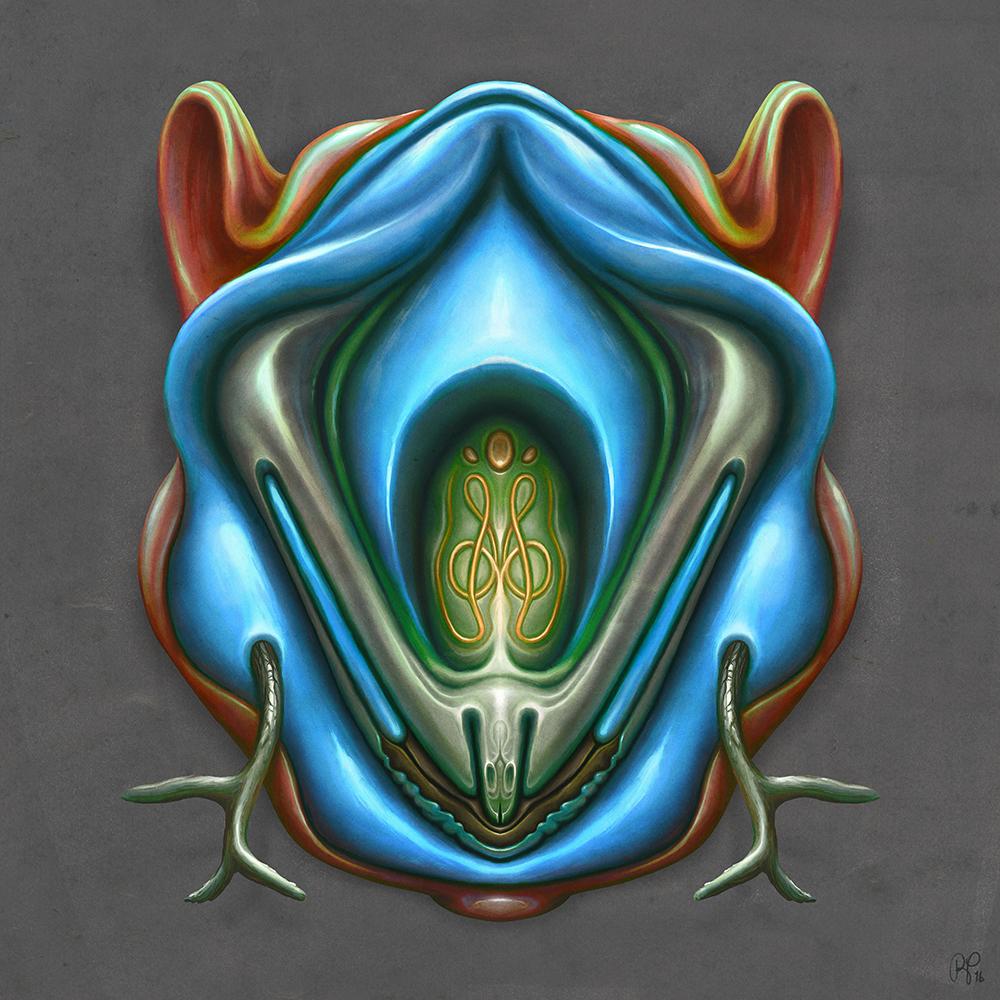 Summer Totem (Blue)