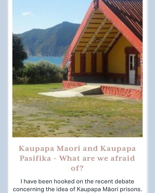 Another timely piece by Mr Houghton on Kaupapa Maori and Education! Here he discusses the uproar around a Prison System run on Maori values and how this links with our education system 👌🏾 (Link in bio)  Vinaka 😊  #TheNativeCollectiveNZ #TeachNZ #EdChat #ForOurPeople #ForUs #Aotearoa