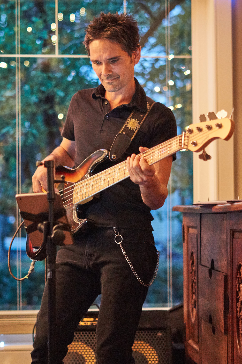 Bassist Dustin Roy