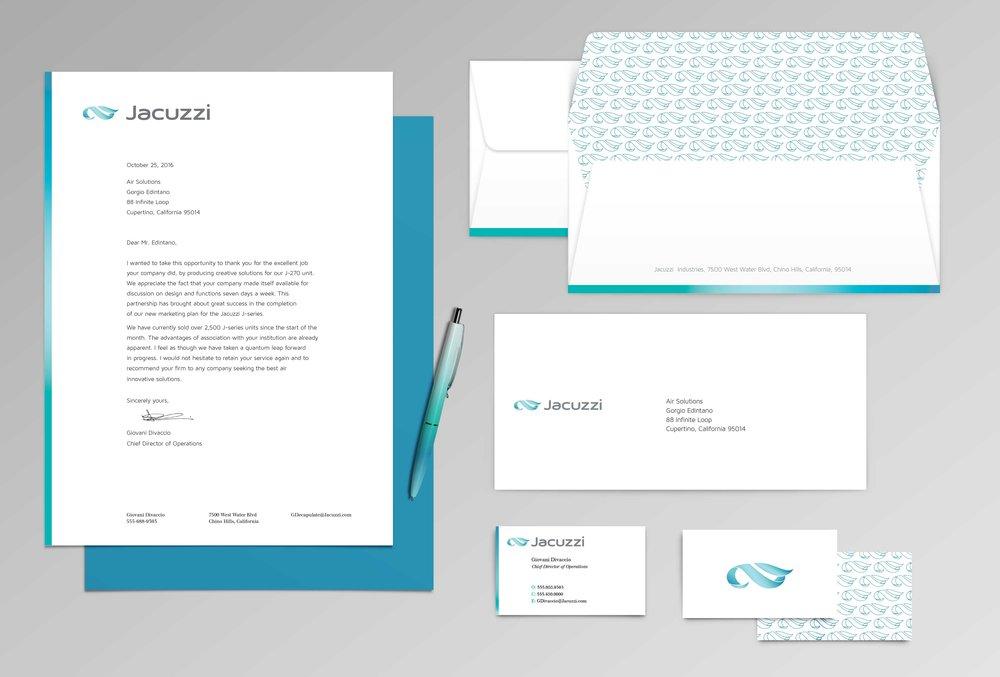 Jacuzzi Identity Rebranding — Chelsea Zoeller