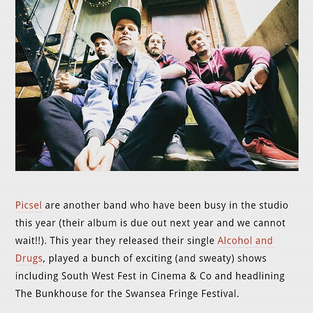 Thanks to @swanseamusichub for their kind words. Gents... You have injected new life into the Swansea scene. Looking forward to 2019!! 👊👊 . . . . . . #picsel #newmusic #diymusic #diy #alternative #indie #punk #pop #swanseamusic #southwalesmusicscene #newalbum #modernlife