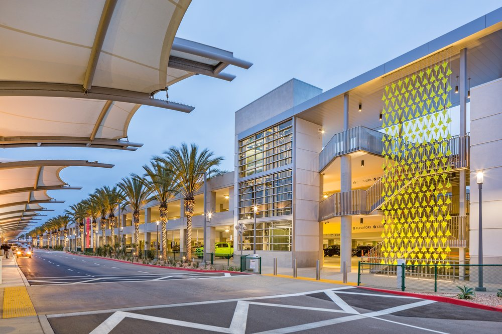 SDIA TERMINAL 2 PARKING PLAZA Project Value: $143.1M