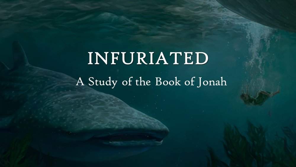 A five week study through the book of Jonah