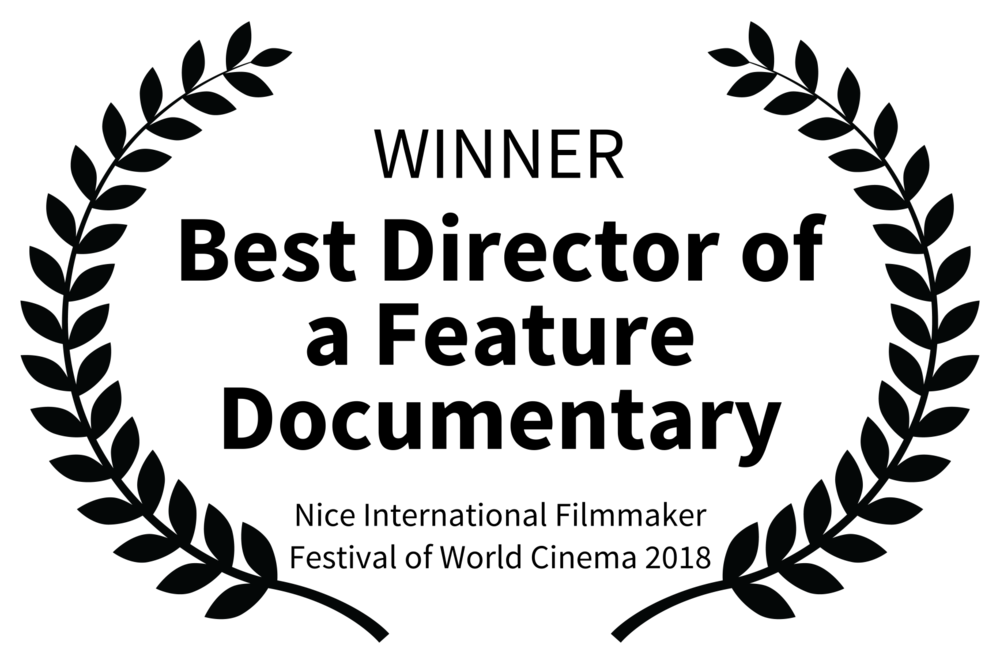 WINNER - Best Director of a Feature Documentary - Nice International Filmmaker Festival of World Cinema 2018.png