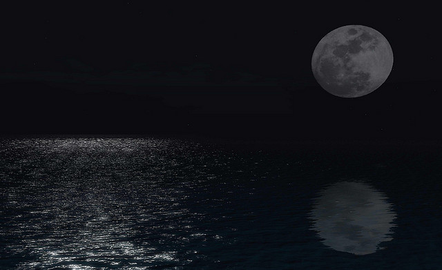 We seek the moon but find only its reflection. (courtesy TORLEY/flickr)