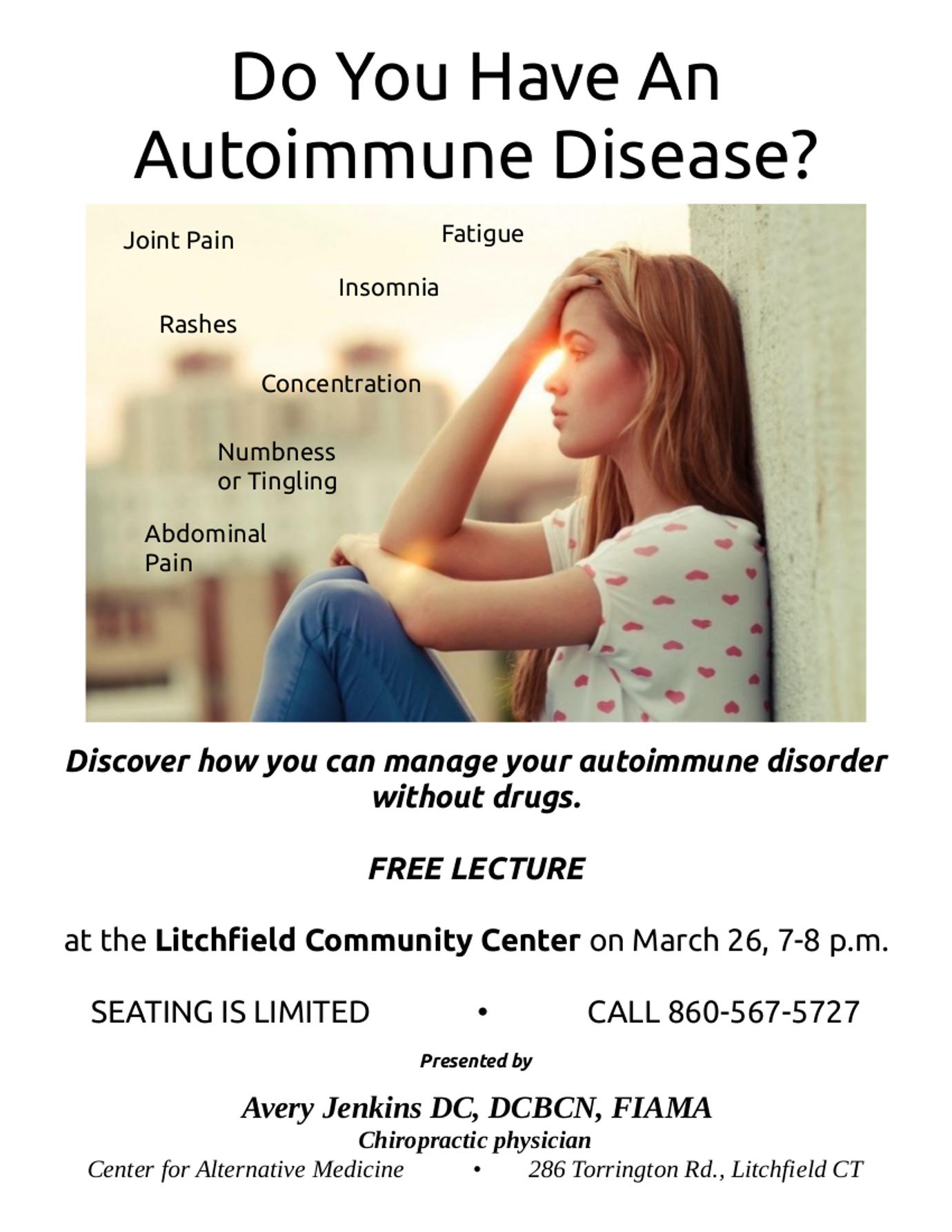 autoimmune flyer