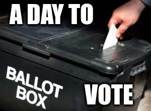 a day to vote
