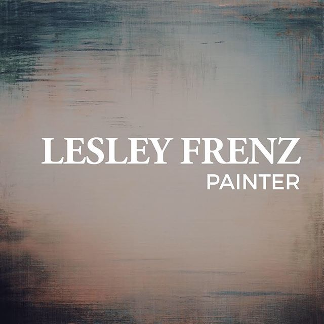 ✨New Blog✨ In partnership with Sarah Hurt of Seattle Art Source, we are excited to spotlight artists #ontheverge. Today's interview features the talented painter @lesleyfrenz 🙌🏻