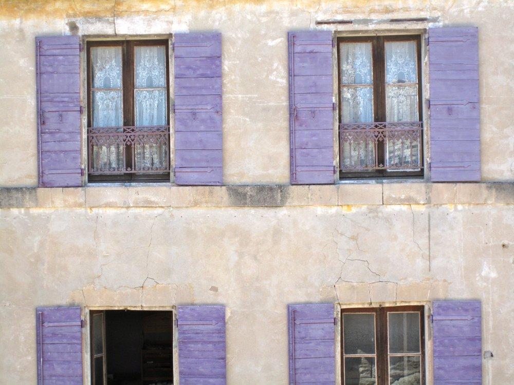 Amethyst Window Shutters