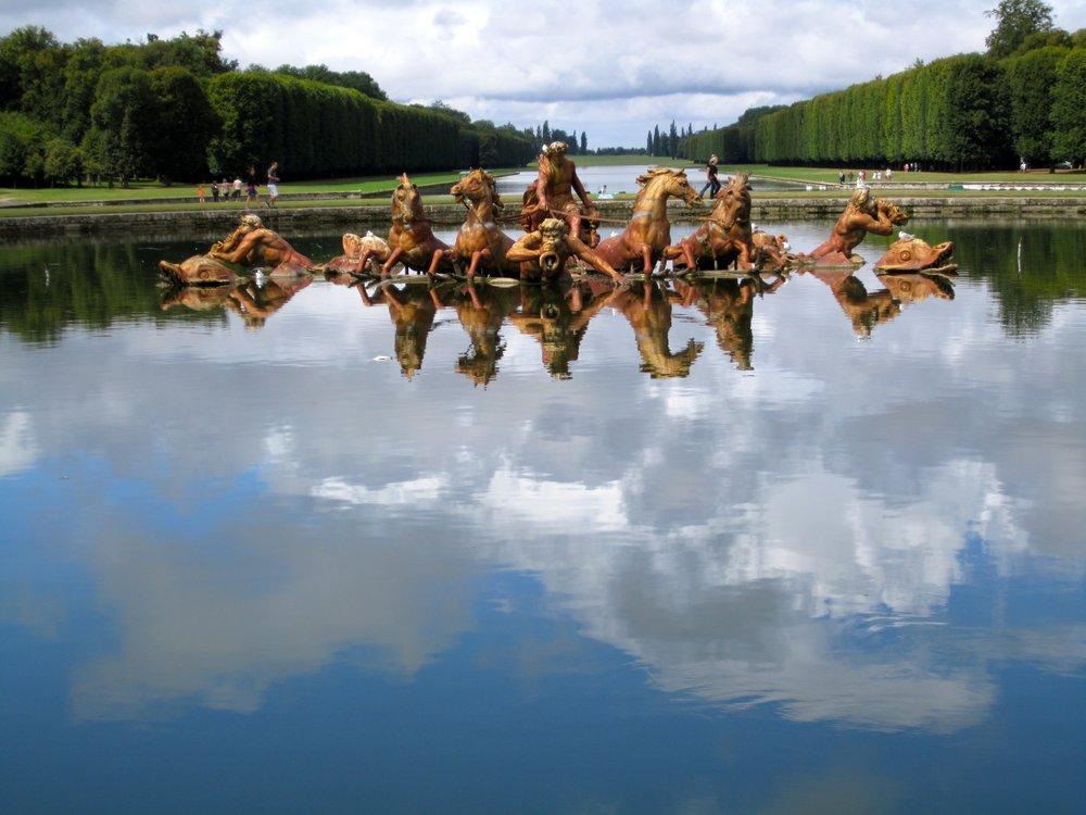 The Apollo Fountain - Versailles Palace