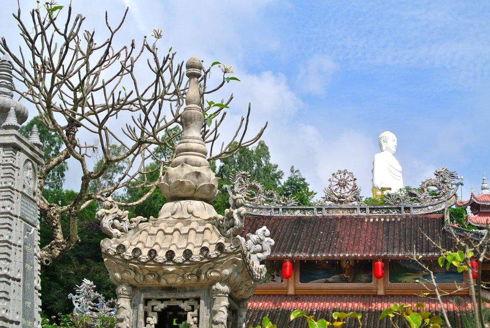 Large White Buddha