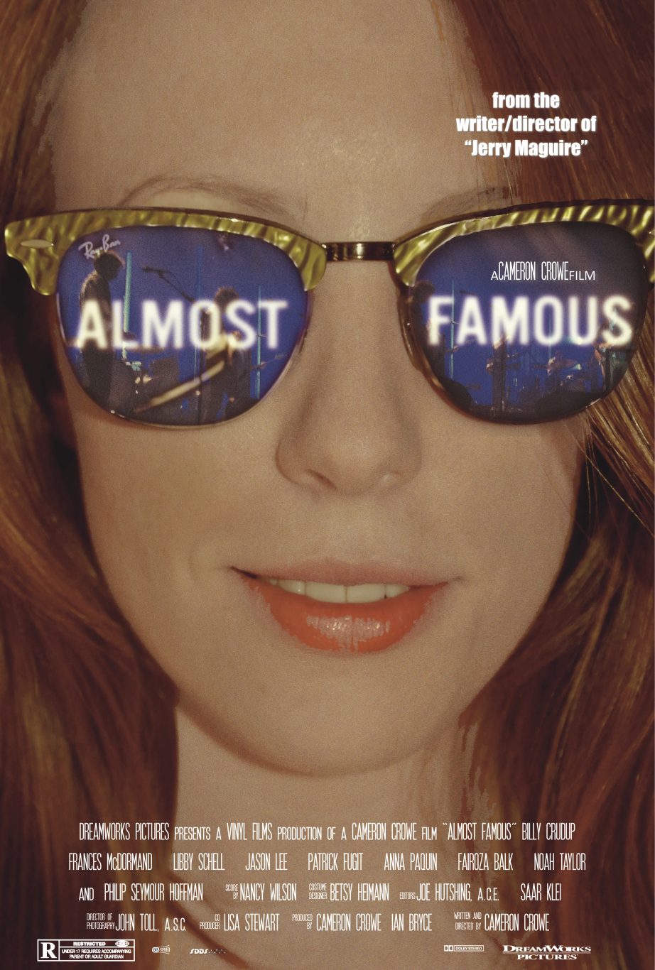Almost Famous Inspired Poster