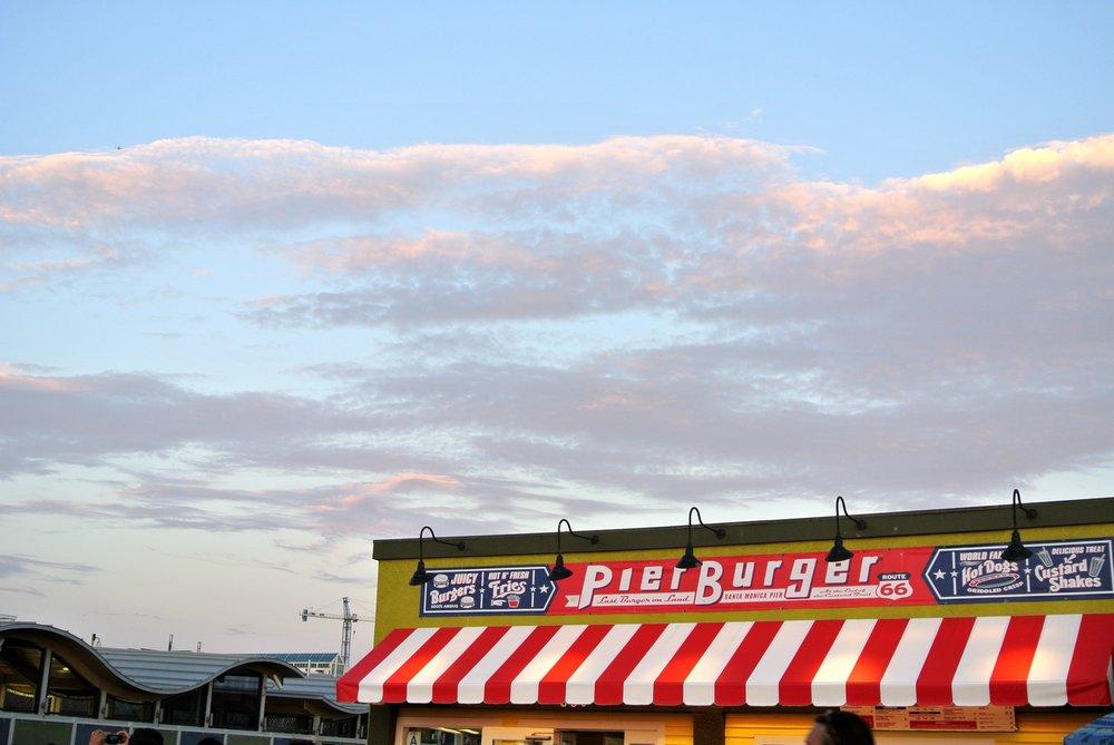 Santa Monica Pier Burger