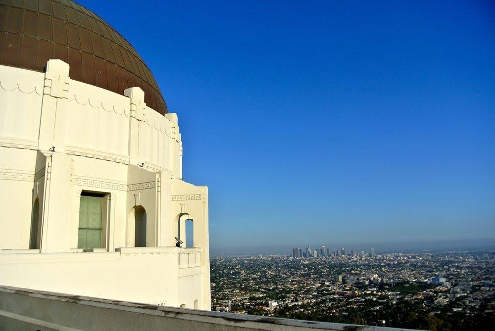 Griffith Observatory - LA Skyline