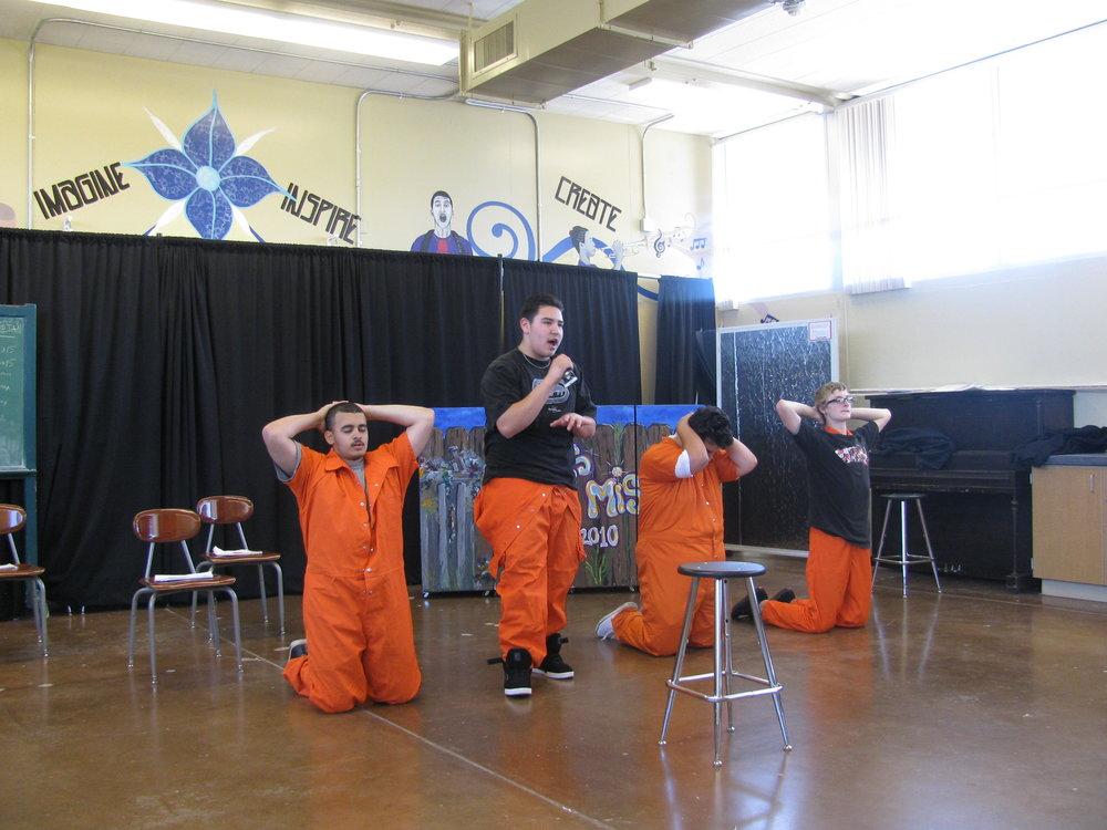 'Le Mis 2010' play - E.L. Hickey High School