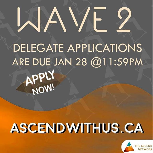 WAVE 2 DELEGATE APPS ARE DUE IN 2 DAYS! Link in bio. Becoming the leader you're meant takes a single step forward. Take that step today. #Ascendwithus