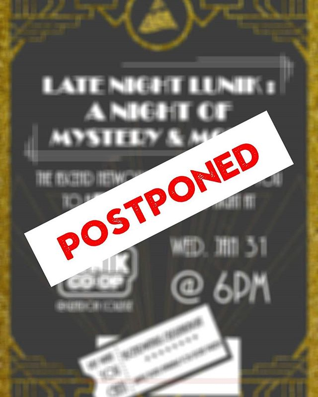 Hey all! Due to an issue with the venue and hosting the event at the current time, the Murder Mystery event is being postponed to a later date in February (TBA). For those who have already purchased raffle tickets, they will be held for you and will still be valid at the event.  That being said, should you have any difficulties with attending the event at the new date, do let us know and we would be more than glad to provide you with a full refund.  Stay tuned for more!