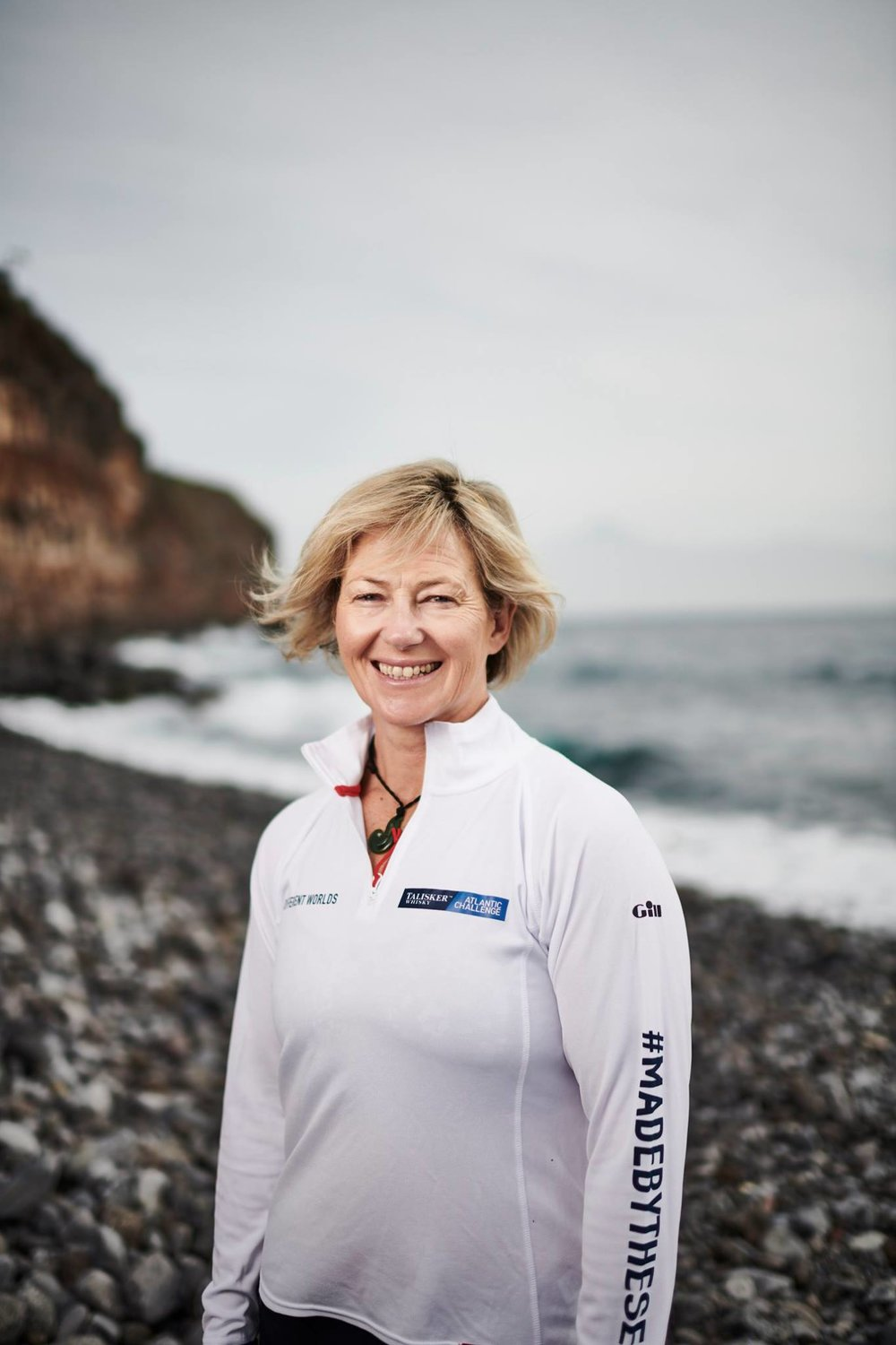 Michelle Lee ready and now taking on the toughest row across the Atlantic.    Image courtesy Talisker Whiskey Atlantic Challenge