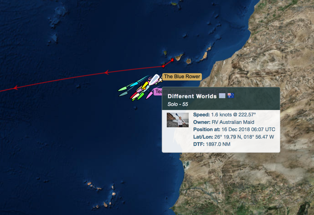 Courtesy of Talisker Race Tracker