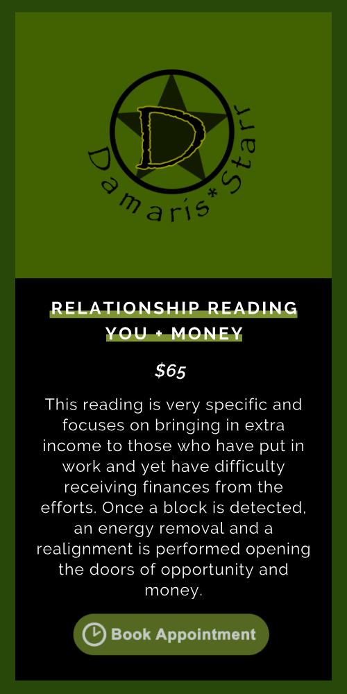 Relationship Reading: You + Money