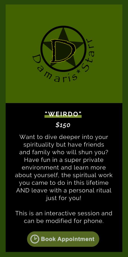 """""""Weirdo"""""""