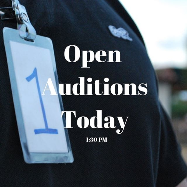 Open auditions today for our short form house team Dr.OTICS Miraculous & Audience Powered Old Town Showdown at 1:30 pm! Info on our website at https://www.oldtownimprov.com/auditions/