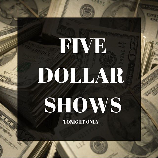 LAST MINUTE DEALS! Both shows tonight are 5$!!!! 7:15 PM and 9 PM!  We will also be giving away a chance to win a free class session!! Get yourself on down to @oldtownimprov !!