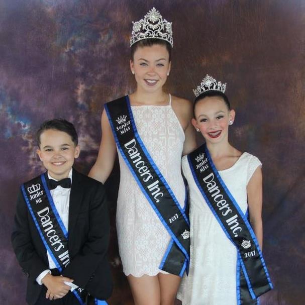 Jr. Mr. Dancers Inc. 2017, Sr. Miss Dancers Inc. 2017, Jr. Miss Dancers Inc. 2017 (Photo credit K Zolla Photography)