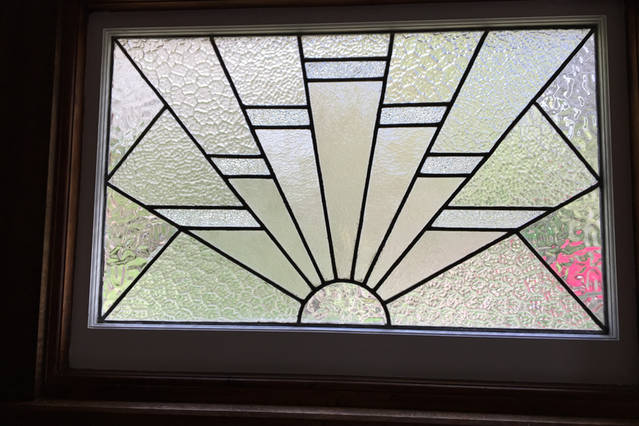 Deco lead light window