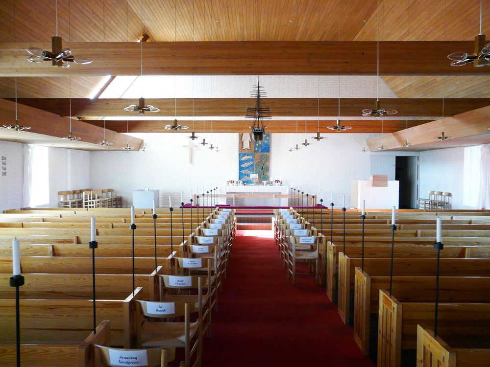 inside the sanctuary