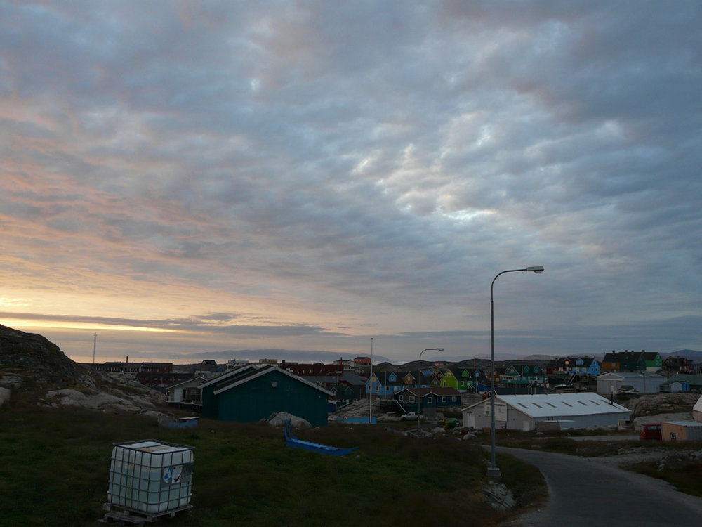 Ilulissat under the midnight sun