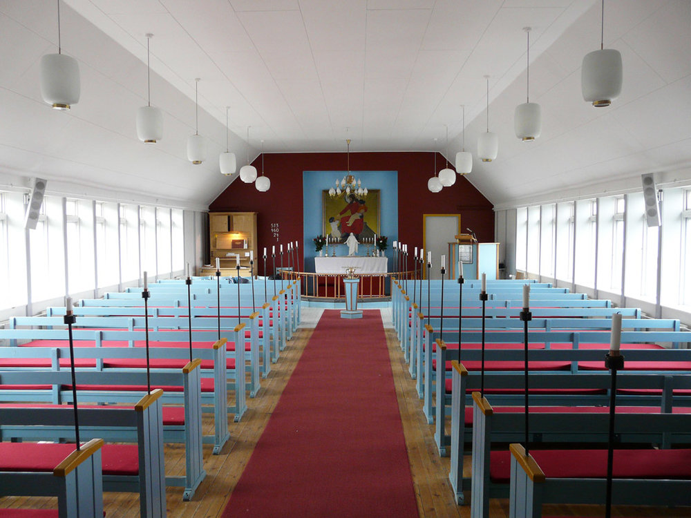inside Qaanaaq Church
