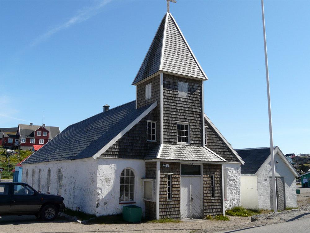 Maniitsoq's old church