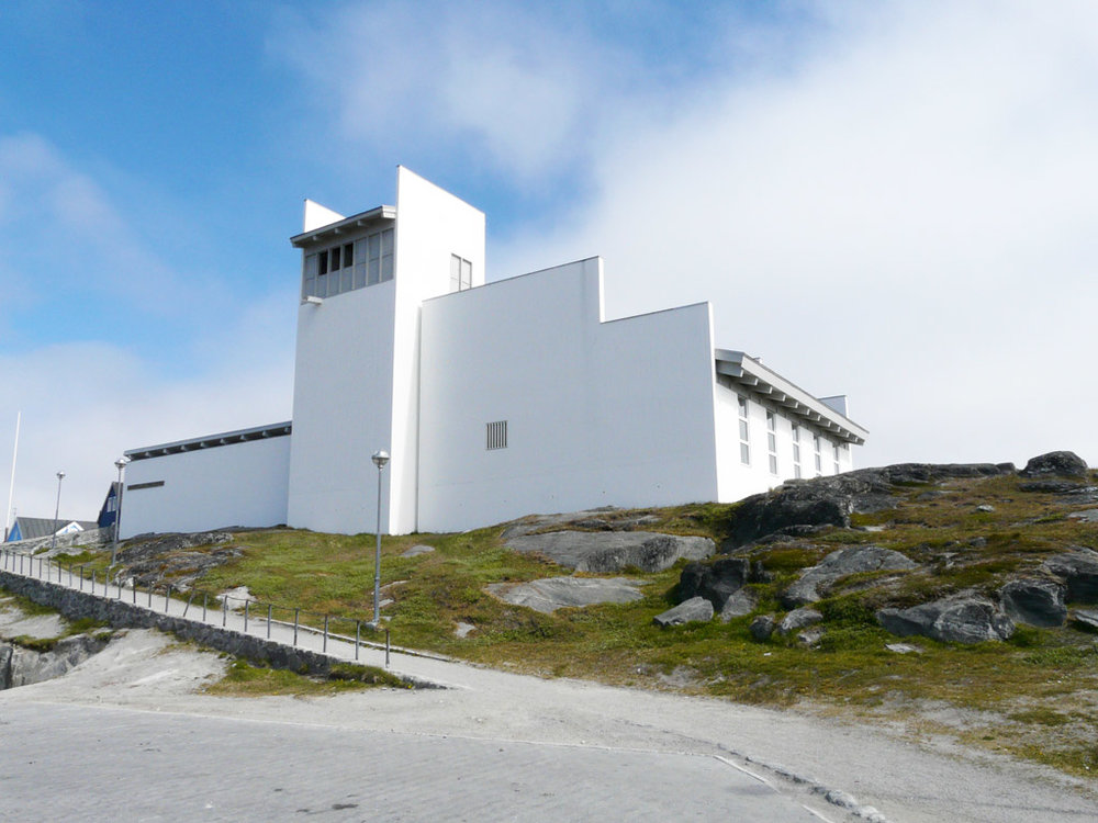 Hans Egede's Church in Nuuk