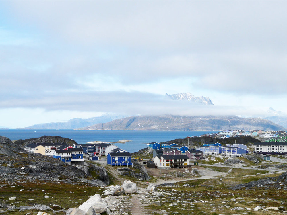 new suburbs are growing in Nuuk