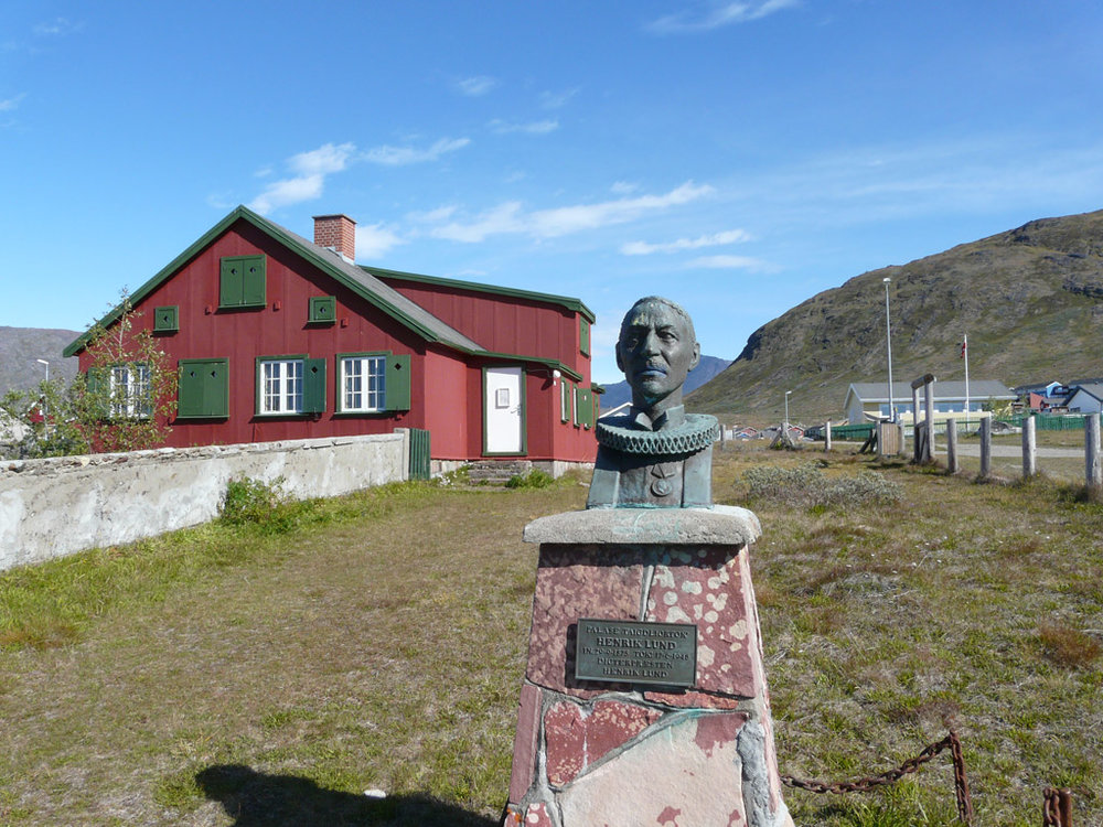 former house of Greenlandic minister and hymn writer Henrik Lund