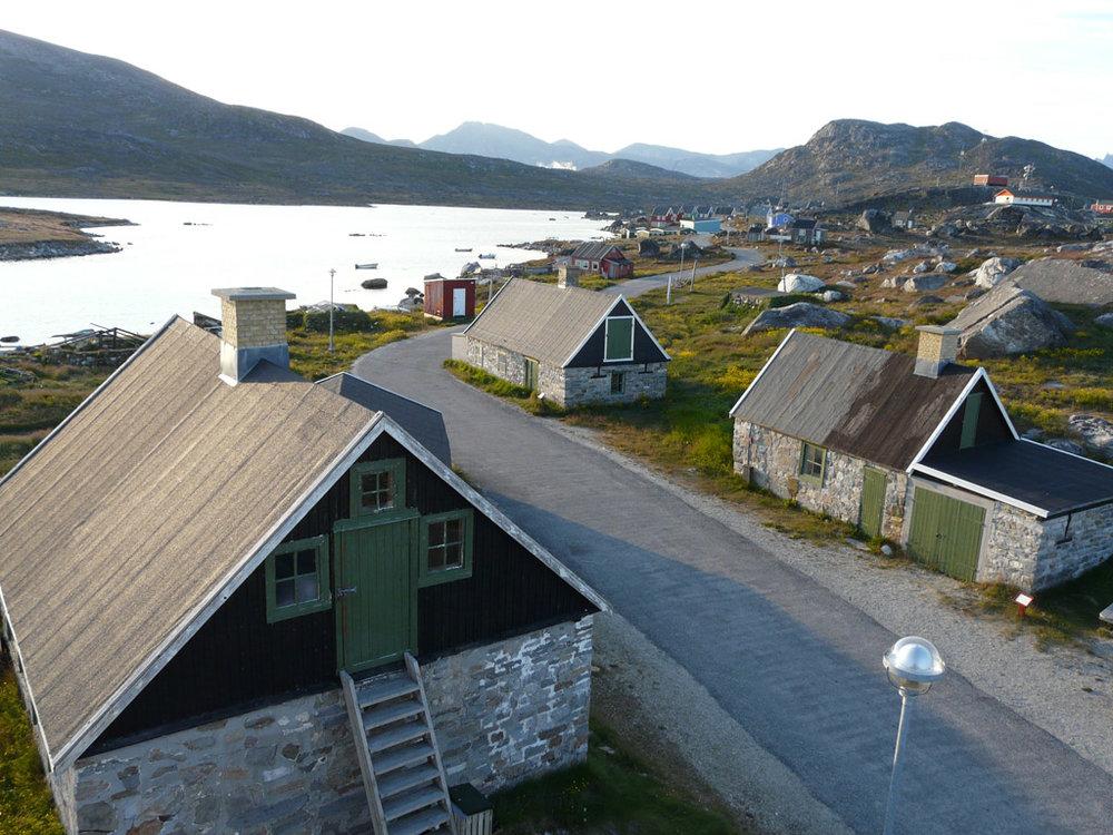 Nanortalik's old town
